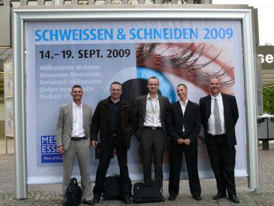 SCHWEISSEN & SCHNEIDEN 2009 ESSEN