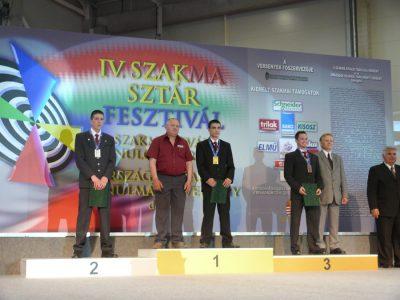 SZAKMA SZTÁR VERSENY 2011
